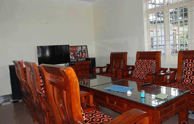 Phòng khách biệt thự 3 Tháng 4 Đà Lạt
