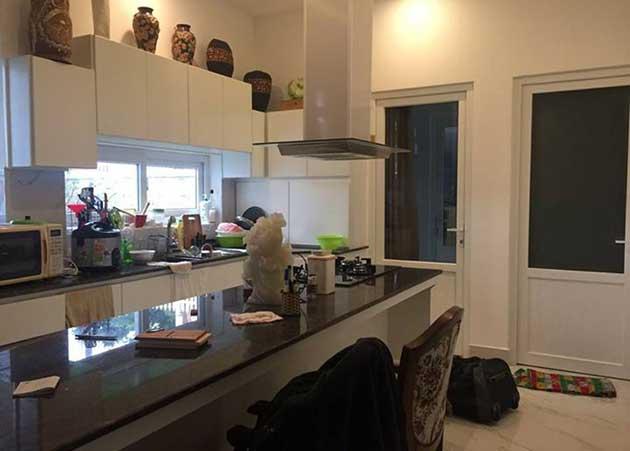 Phòng bếp biệt thự Đống Đa Đà Lạt
