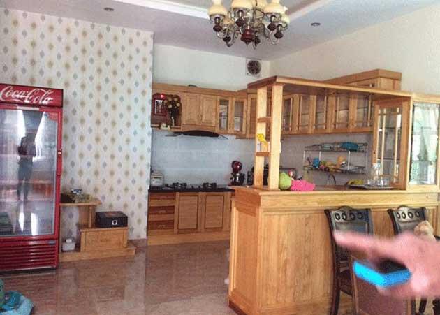 Phòng bếp biệt thự Hai Bà Trưng Đà Lạt