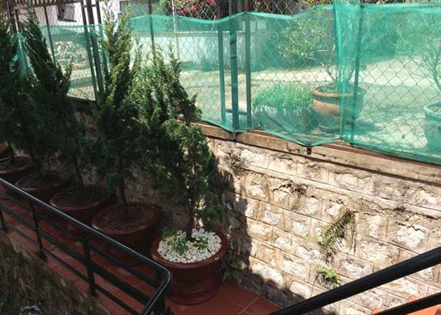 1 khoảnh nhỏ sân vườn